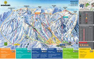 Snowbasin map