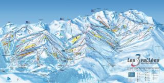 Meribel map