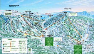 Brian Head Resort map