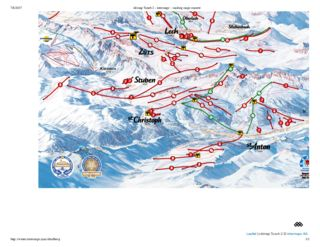 St Anton map