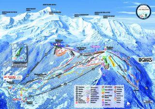 Chamonix Mont-Blanc map