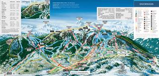 Snowmass trail map