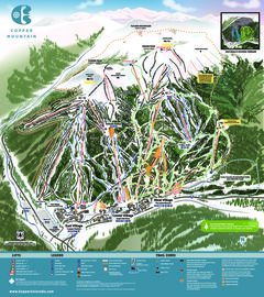 Copper Mountain map