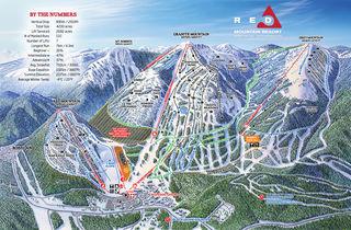 RED Mountain Resort map