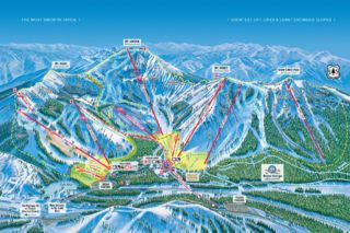 Sugar Bowl Resort map