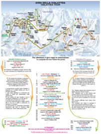 Sauze d'Oulx trail map