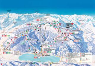 Zell am See - Schmittenhöhe trail map