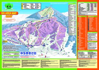 Nozawa Onsen map