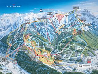 Telluride trail map