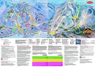 Mont Tremblant map