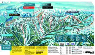 Mount Hotham map