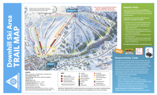 Tahoe Donner map
