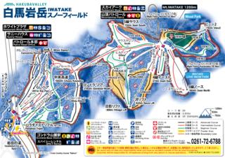 Iwatake trail map