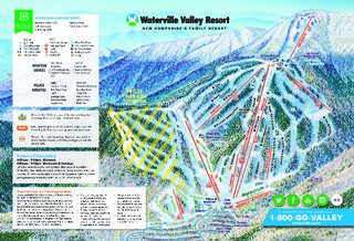 Waterville Valley map