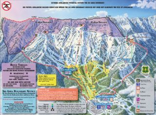 Bridger Bowl map