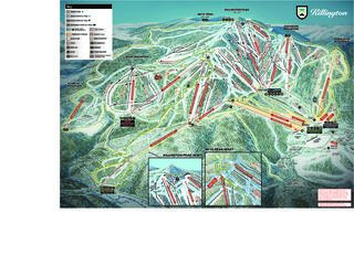 Killington Resort map