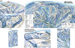 Powder Mountain map